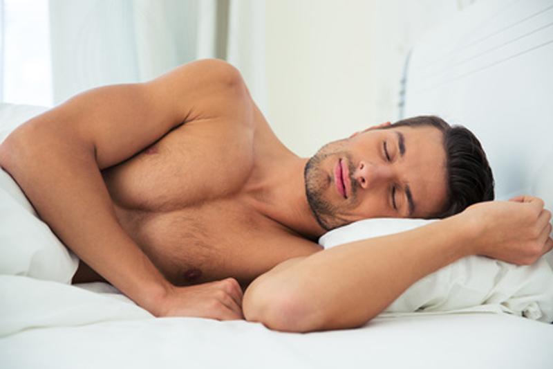 Schwitzen beim Schlafen in der Nacht